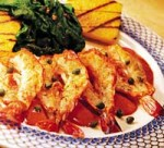 Sautéed Prawns & Scallops with Lemon Myrtle